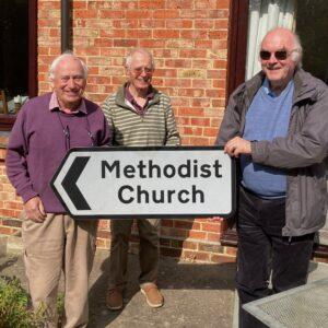 (l-r) Councillor David Turner, Bob Heath-Whyte LLM, Rev'd John Anderson